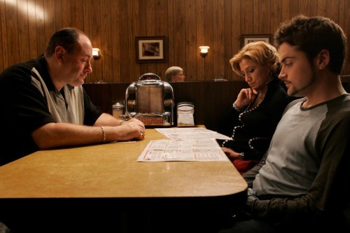 The Sopranos, «Made in America», scène finale