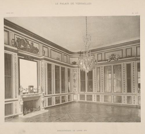 Palais de Versailles, Bibliothèque de Louis XVI, 1899