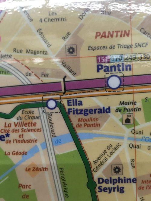 Station de tramway Ella-Fitzgerald, Paris