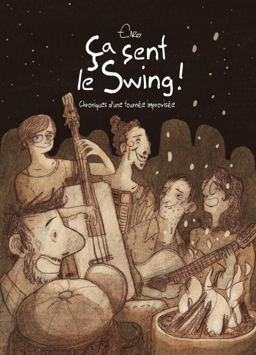 Enzo, Ça sent le swing !, 2019, couverture