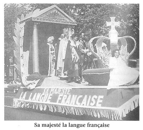 Char allégorique, Fête de la Saint-Jean-Baptiste