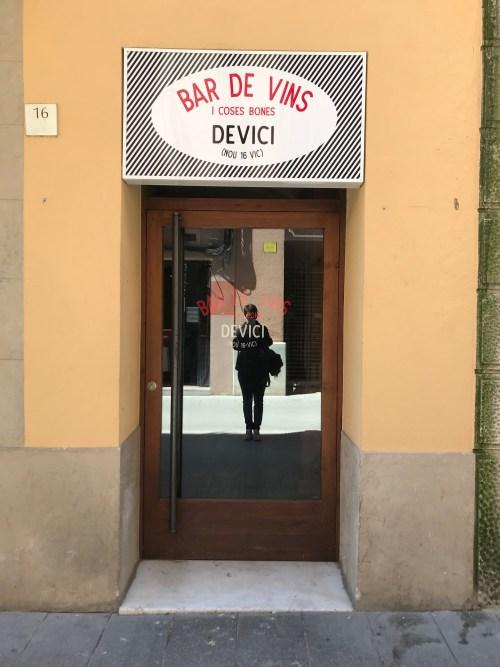 Bar de vins, Espagne, 2019