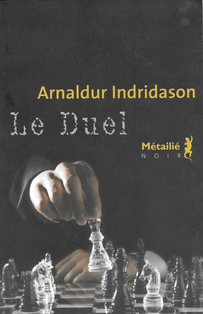 Arnaldur Indridason, le Duel, 2014, couverture