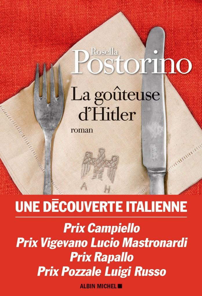 Rosella Postorino, la Goûteuse d'Hitler, couverture
