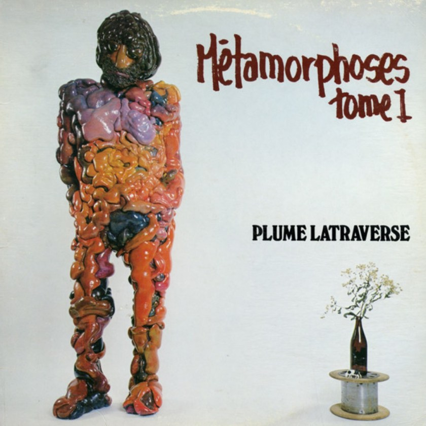 Plume Latraverse, Métamorphoses. Tome 1, 1982, pochette