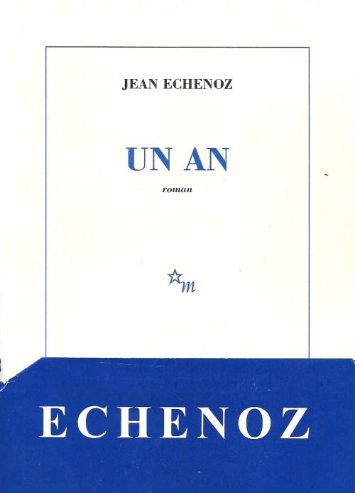 Jean Echenoz, Un an, 1997, couverture