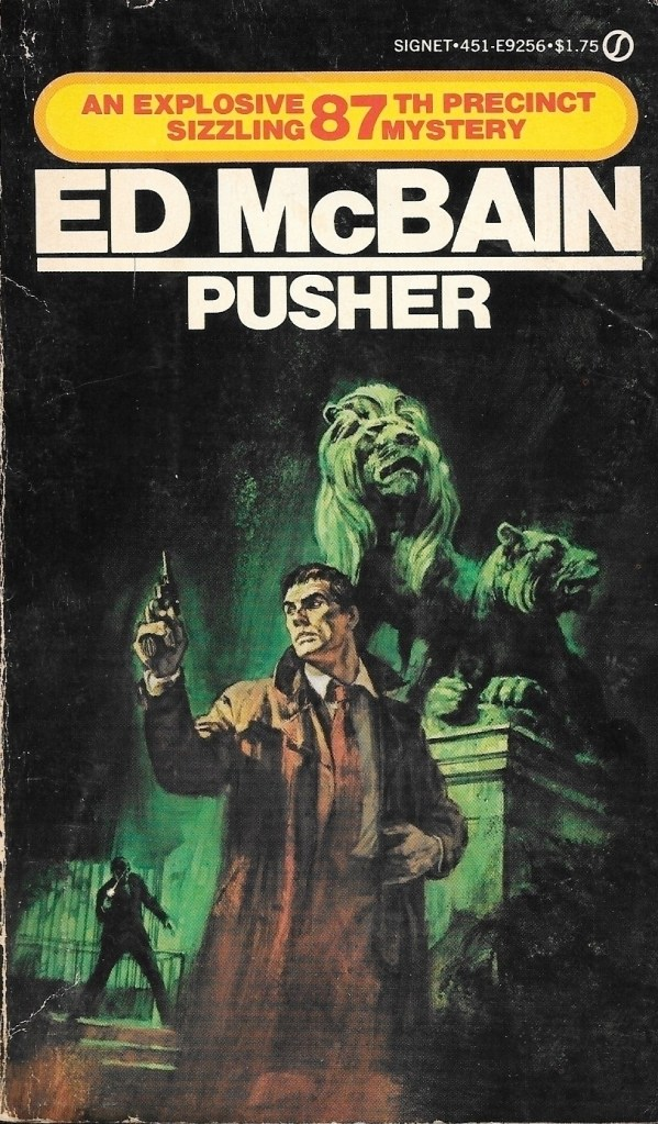 Ed McBain, Pusher, éd. 1973, couverture