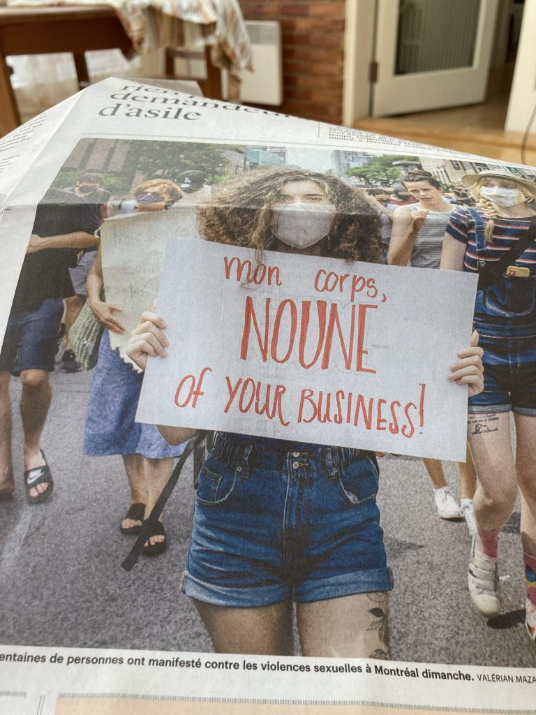 Photo du journal le Devoir