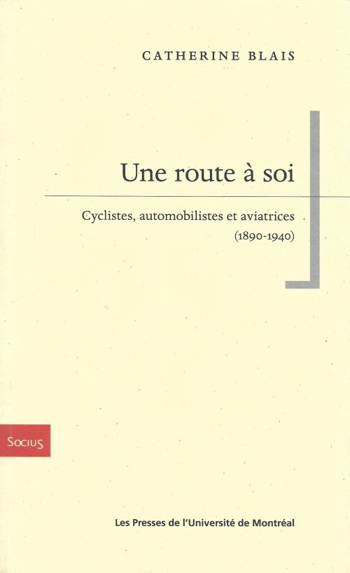 Catherine Blais, Une route à soi, 2020, couverture