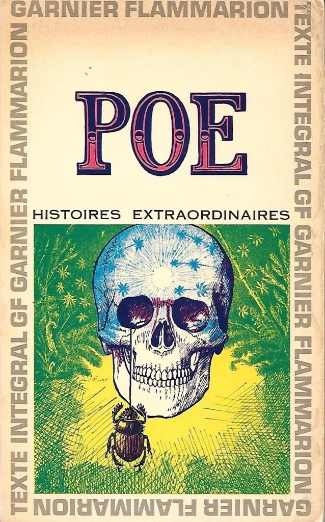 Edgar Allan Poe, Histoires extraordinaires, éd. de 1965, couverture