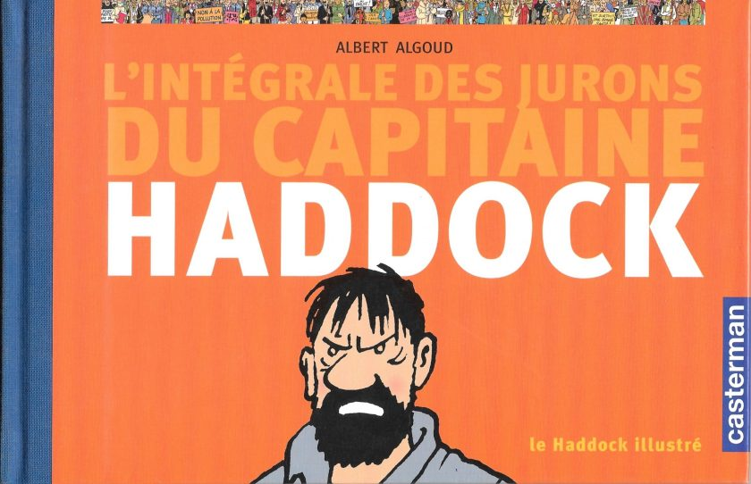 Albert Algoud, le Haddock illustré, 2004, couverture