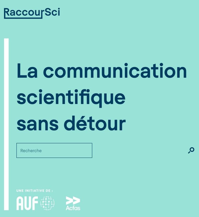 RaccourSci, logo, 13 mai 2021