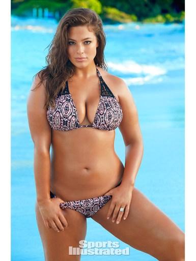 Meet Ashley Graham, Plus-Size Model on Sports illustrated 2016 Swimsuit