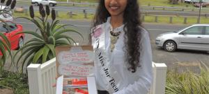 Akira Manawer Teen Beauty Queen's Inspiring PET Project
