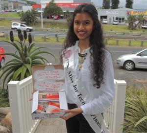 Akira Manawer Teen Beauty Queen's Inspiring PET Project