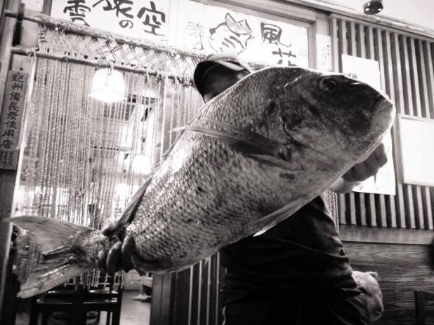 自己ベストの大大鯛