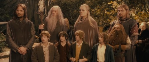 Shot of Fellowship a few seconds before the scene ends. Take intermission after this