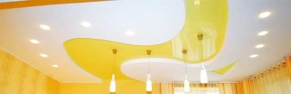 Цветные натяжные потолки в Оренбурге от 220 руб за квм
