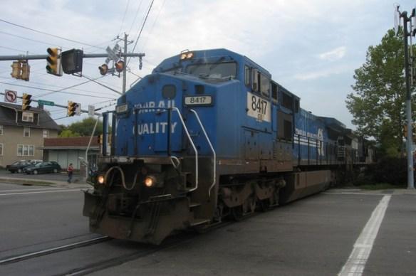 GE Dash 8-40CW 8417