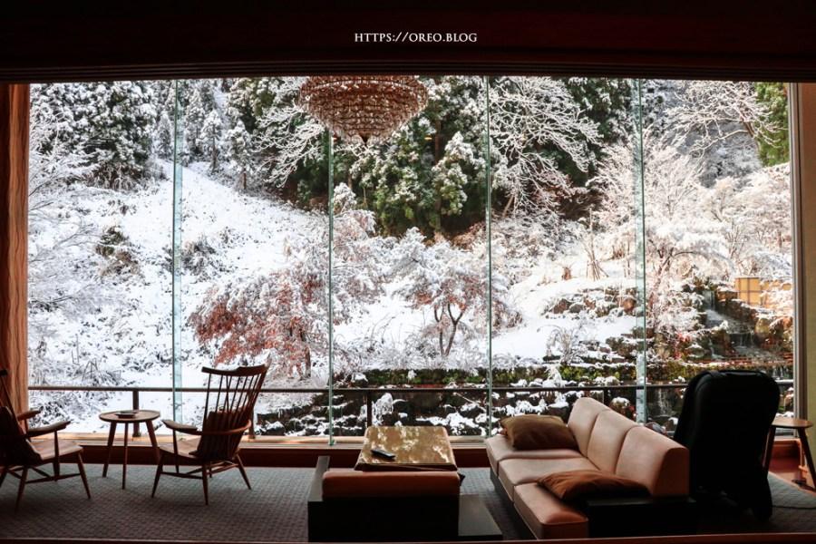 新潟越後湯澤双葉飯店~美到窒息的木の邸宅~水族館大的無敵落地窗雪景