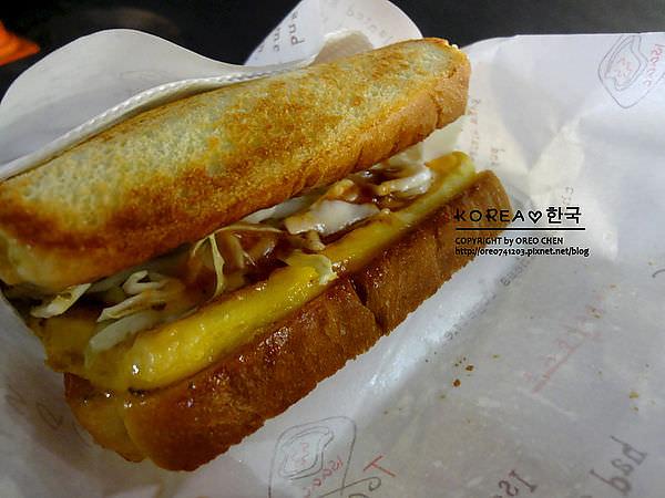 [OREO的旅行日記。韓國必買] 東大門必買超好吃三明治Isaac (附OREO親手製作東大門地圖)