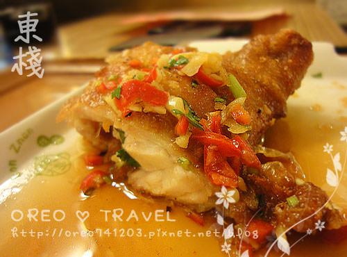 [OREO的旅行日記。東區美食篇]東棧茶餐廳—好好吃泰式椒麻雞^^