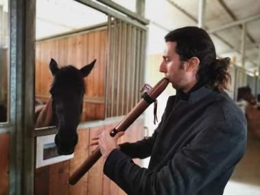 Horses & Native American Flute