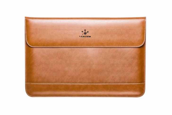 LENTION PC 封筒型スプリットレザーバッグ
