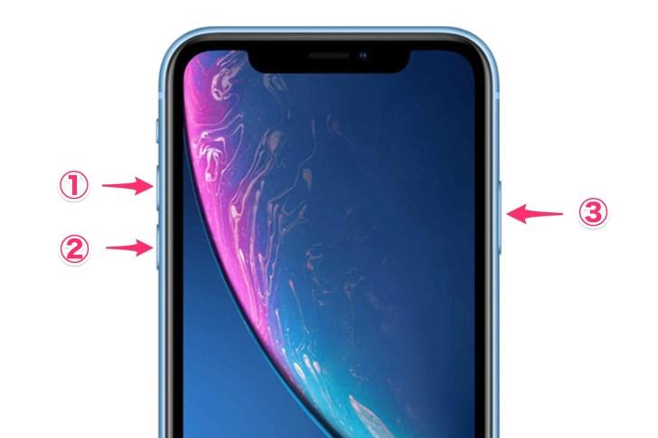 iPhone_XR_イメージ 再起動方法