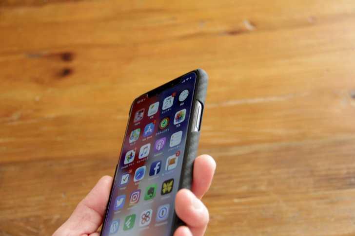 PITAKA iPhoneXケース機能性についての写真