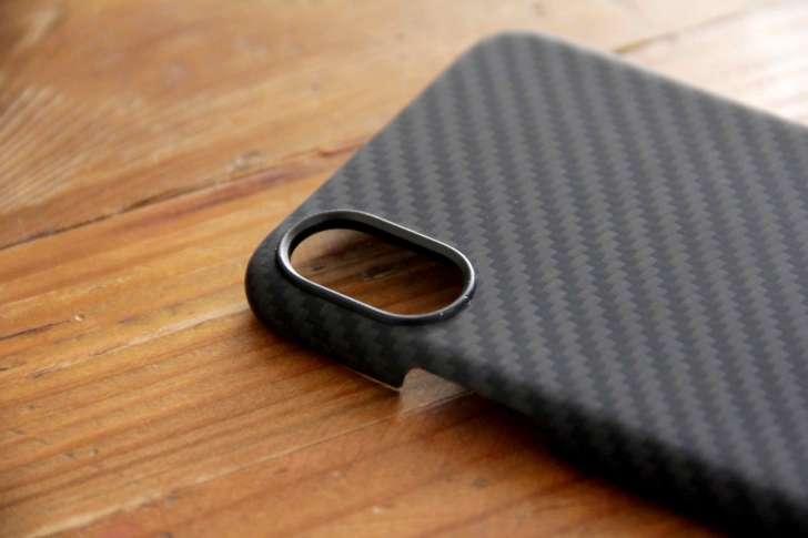 PITAKA iPhoneXケースカメラの写真