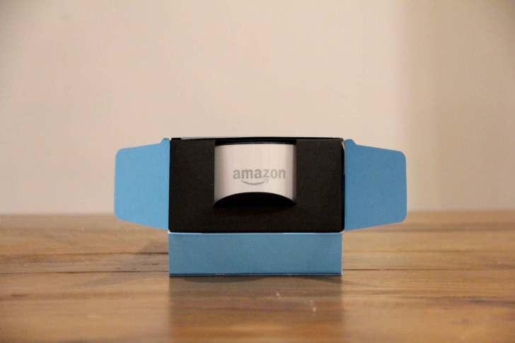 AmazonEchoDotパッケージの中身の画像
