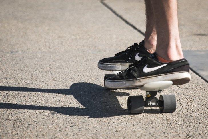 NIKE SBスケートシューズの画像