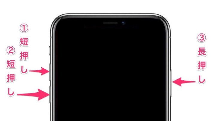 iPhone X How to forcibly terminate image