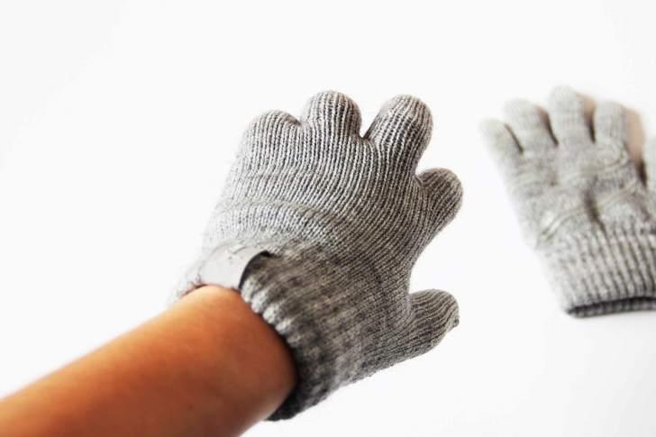 スマホ 手袋 使用 写真