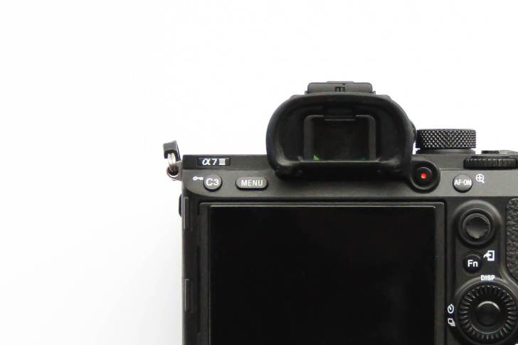 α7Ⅲ 本体 液晶部分 写真