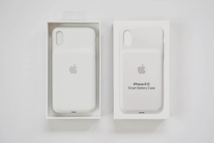 iPhone XS Smart Battery Case 開封