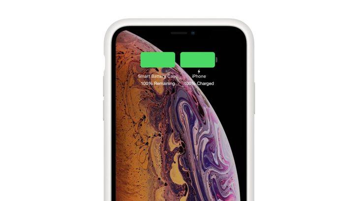 スマートバッテリーケース 充電残量確認 画像