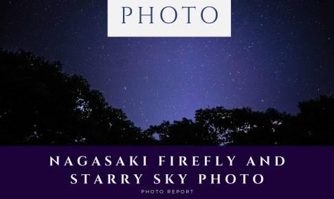 Nagasaki-firefly-and-starry-sky-photo