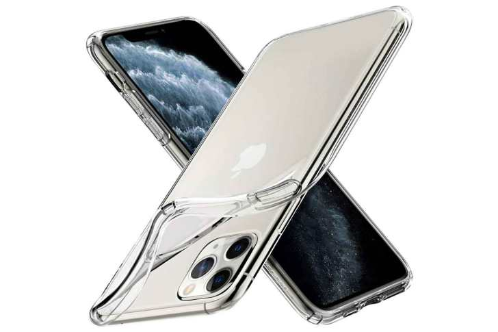[Spigen]-iPhone-11-Pro-TPU-Clear-Case