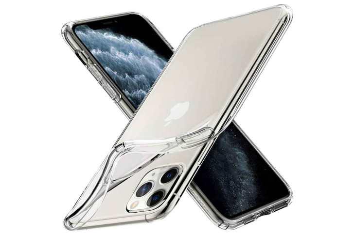 [Spigen]-iPhone-11-Pro-TPU-Clear-Case