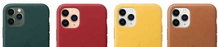 iPhone11-Pro-Apple-Leather-Case-color