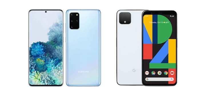 Google-Pixel4-GalaxyS20 2