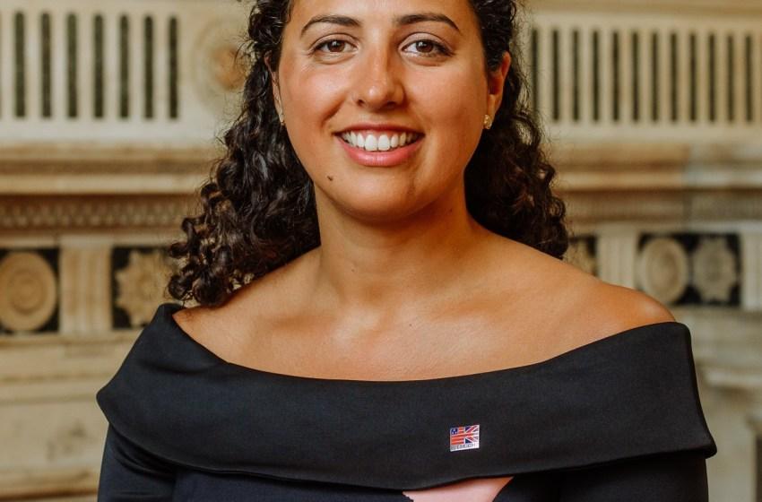 Lella Nouri, visiting Fulbright Scholar, receives Rising Star Award