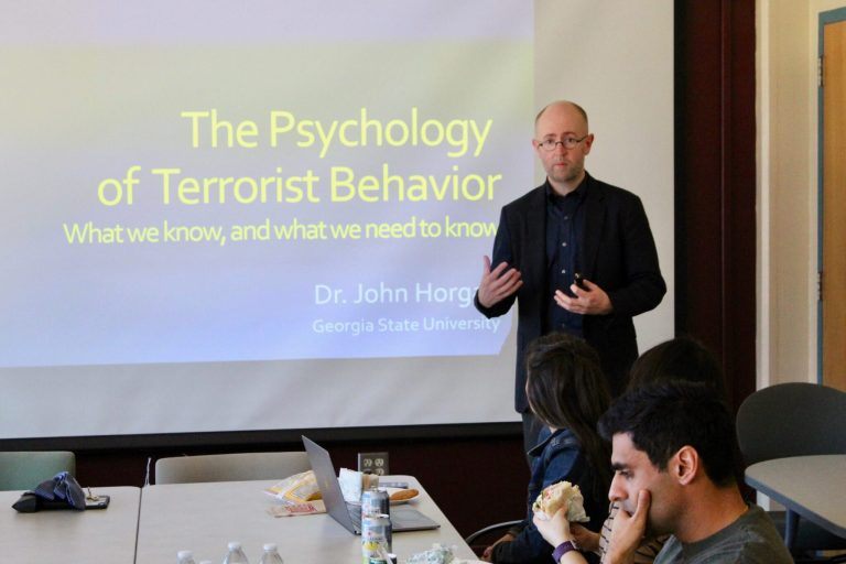 The Psychology of Terrorist Behavior  by Dr. John Horgan