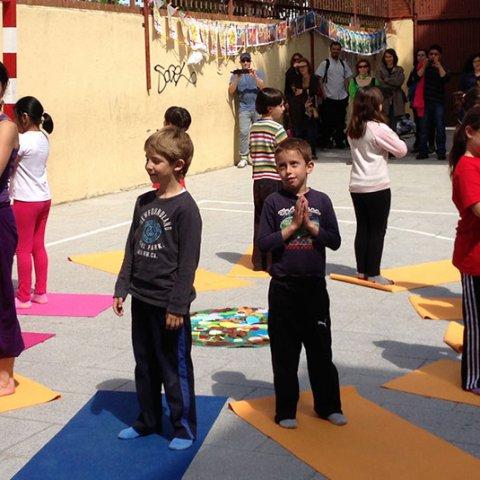 Yoga para niños/niñas
