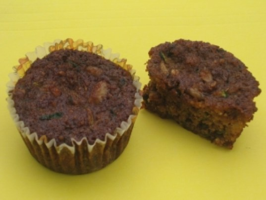 Moist, nutritious, and yummy, make these zucchini muffins now.