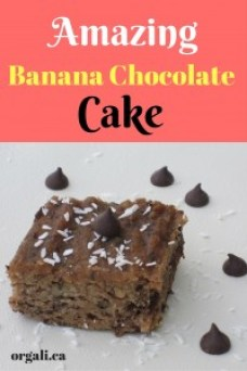 This is a healthy and delicious chocolate chip cake that nobody will say no to. Even your picky eater. Kids and adults, will all rave about it. Make it today or save it for later. You won't regret!