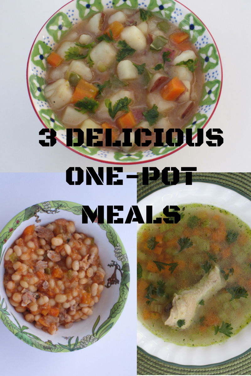 Soul warming delicious 3 one pot meals