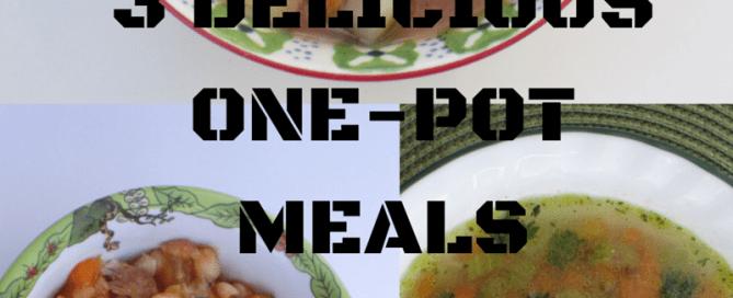 Soul warming delicious 3 one pot meals
